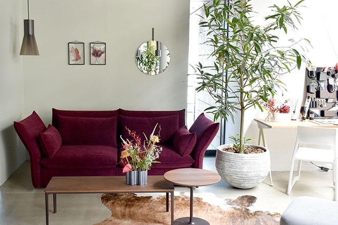 Vitra Home Stories with Beautiful Flowers
